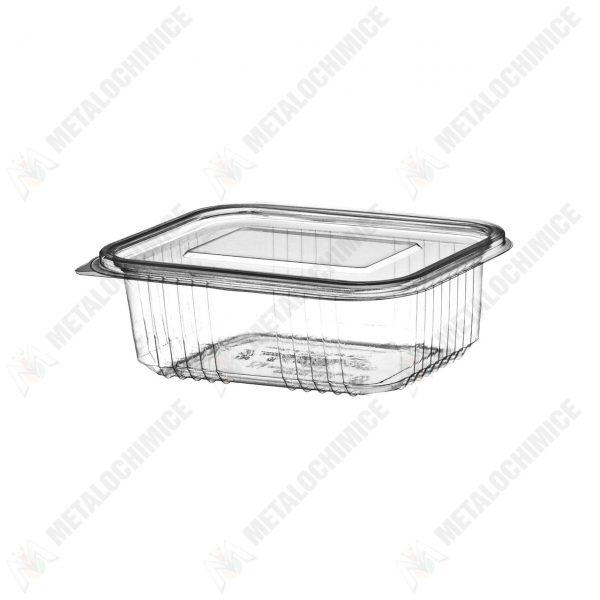 caserole unica folosinta din plastic cu capac 750g 100 buc 1