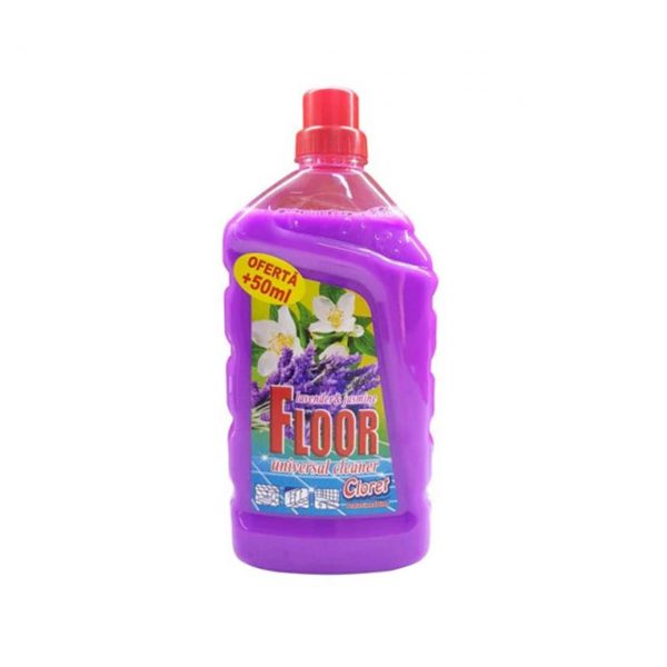 cloret detergent pardoseala cu parfum de liliac 1 l 1