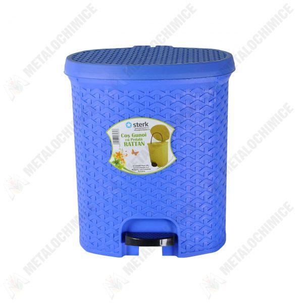 cos-de-gunoi-plastic-cu-capac-si-pedala-5-l-litri-albastru-2