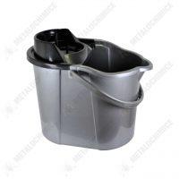 galeata pentru mop cu storcator 15 litri gri 1