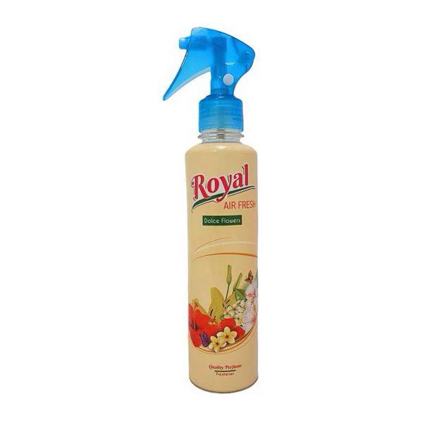 royal odorizant camera cu pulverizator dolce flowers 250 ml 2