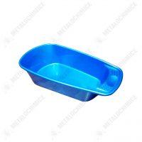 cadita bebe din plastic albastra 1
