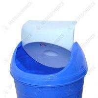 cos gunoi pentru baie albastru 10 litri 2