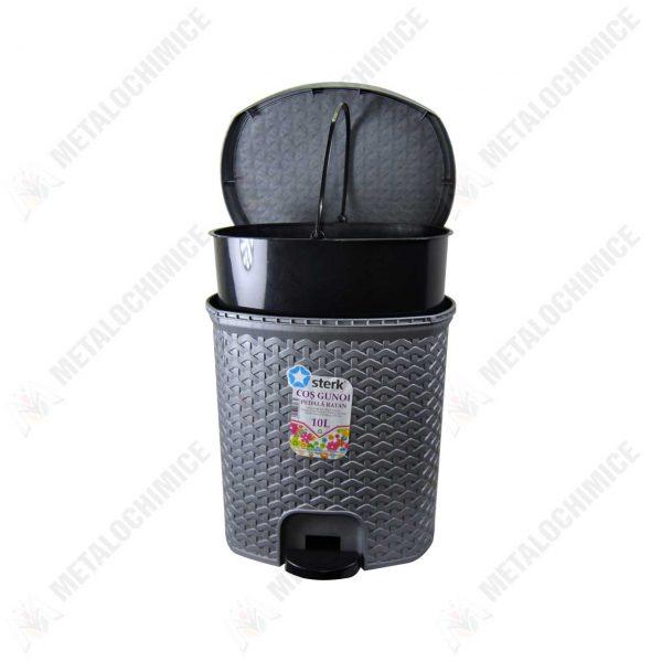 cos-gunoi-ratan-cu-pedala-din-plastic-10l-2