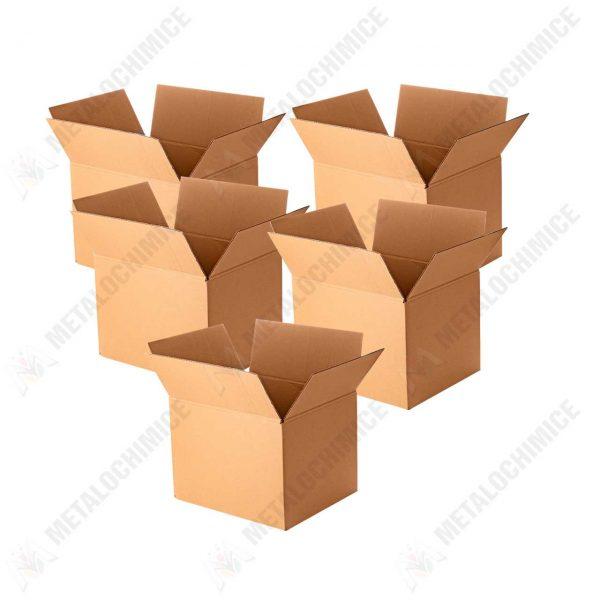 cutie carton pentru mutat 5 straturi 61x32x32 cm 5 bucati