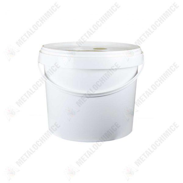 galeata polipropilena 10 litri alba 1