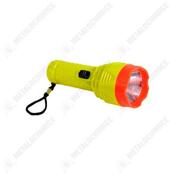 lanterna led din plastic cu baterii 1