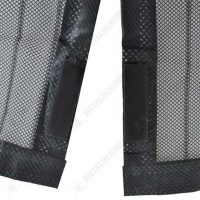 magic mesh perdea magnetica usa anti insecte neagra 2