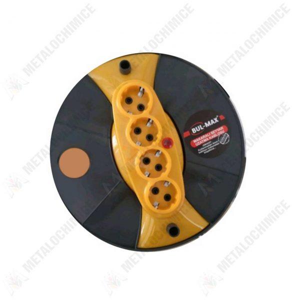prelungitor electric pe tambur 50m 3x2 5 mm 2