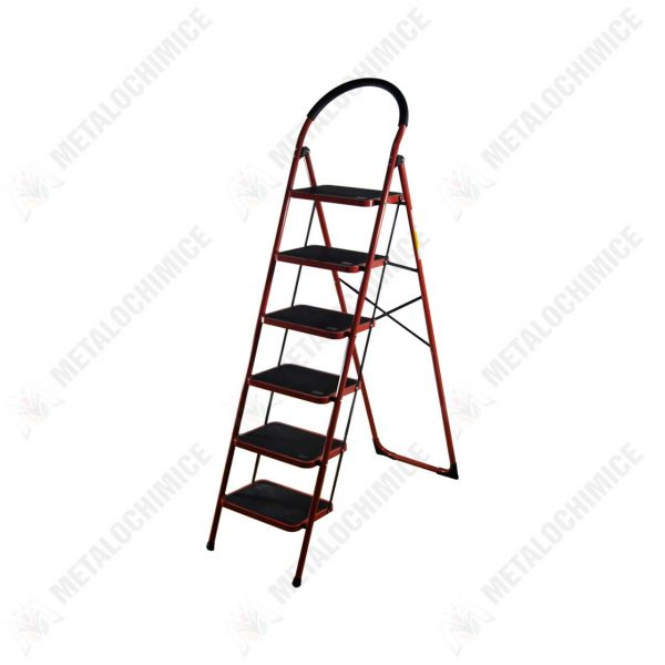 scara-6-trepte-otel-pliabila-rosie-1