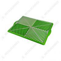 scurgator de vase din plastic universal verde 1