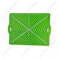 scurgator de vase din plastic universal verde 2
