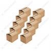 Cutie de carton 3 straturi pentru ambalat, 40x40x30 cm 10 buc