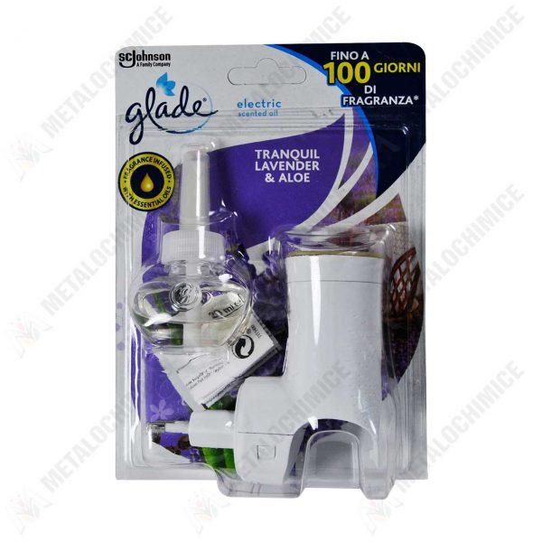 glade aparat electric cu rezerva tranquil lavender and aloe 20 ml 1
