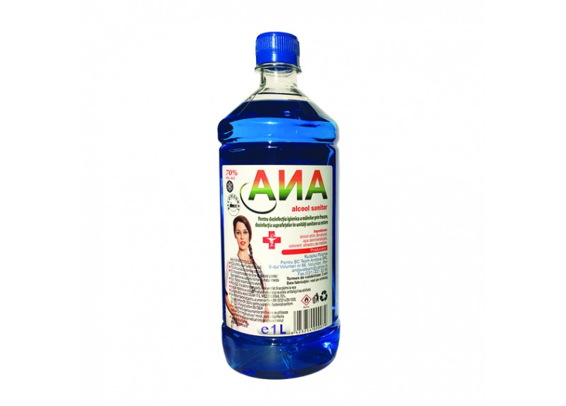 Alcool sanitar Ana, 70%, 500 ml