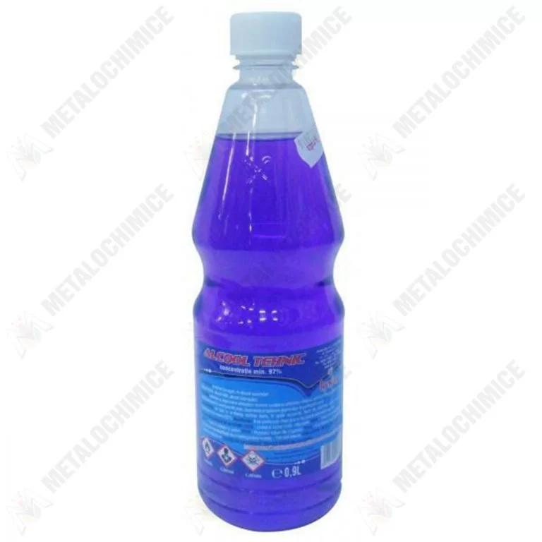 alcool albastru