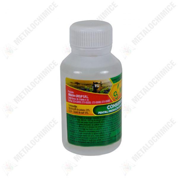 metabisulfit de potasiu pentru vin e224 conservant alimentar 100 ml 2