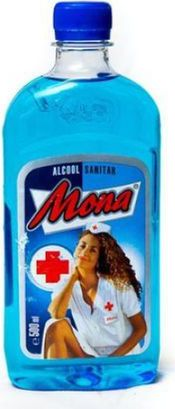 Alcool sanitar 70% Mona 500 ml - Deliveryman