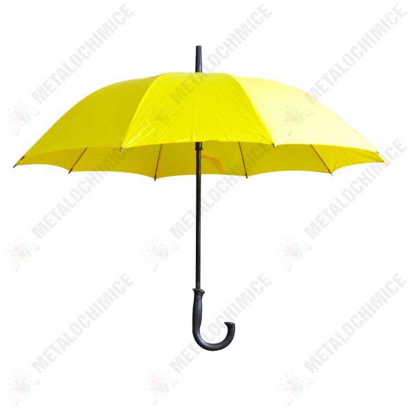 umbrela ploaie dama rezistenta galbena 1