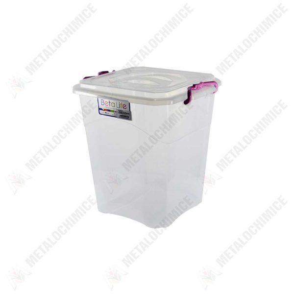 cutie depozitare bucatarie transparenta 7 l 1