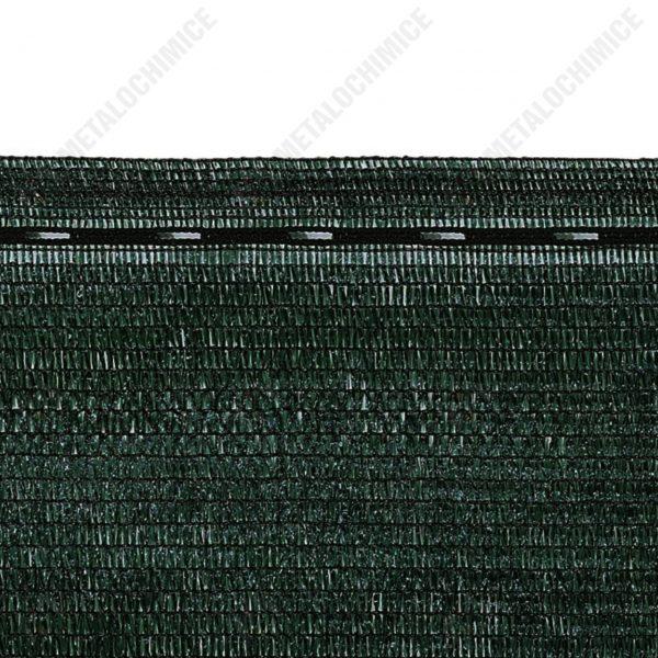 plasa umbrire gard 75 2m latime verde 50m 2