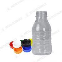 sticla de plastic 250ml cu forma rotunda 300buc 1