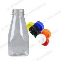 Sticle PET de plastic transparent 250ml 1