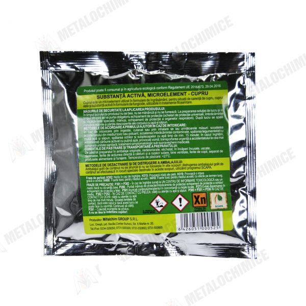 sulfat de cupru tip mif ingrasamant universal 50g 2