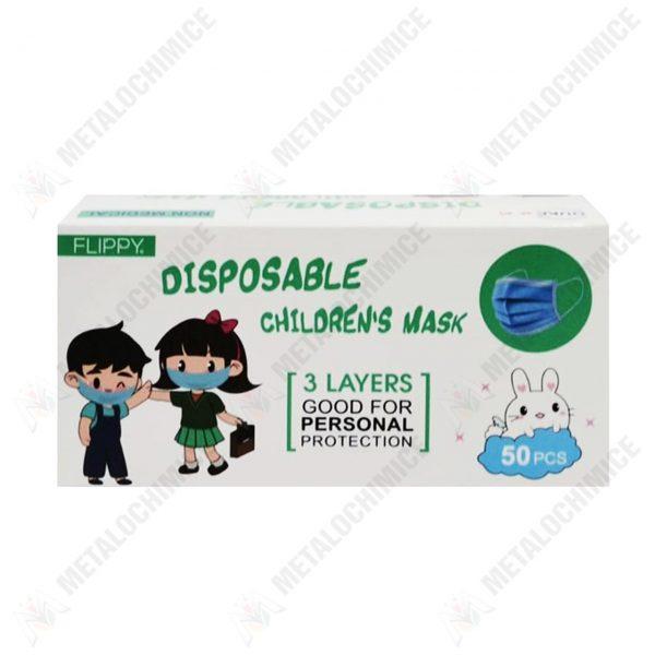 masti protectie copii unica folosinta flippy 50 bucati 2