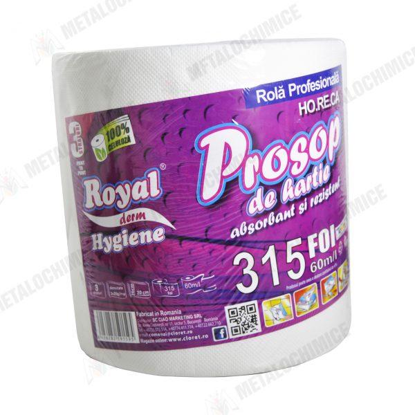 royal prosoape de hartie 100 celuloza 3 straturi 60m 1 1