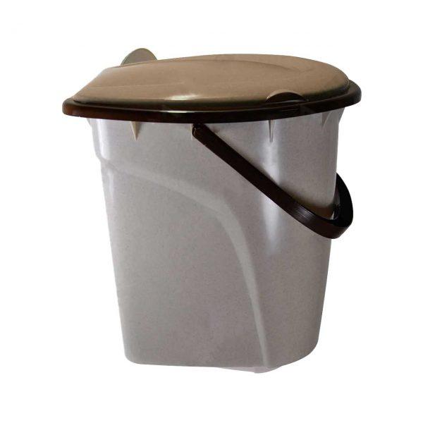 galeata wc toaleta din plastic cu capac 24 l 3