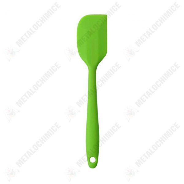 spatula-silicon-bucatarie-verde-20-cm