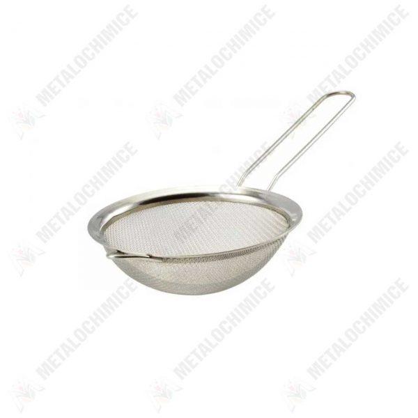 strecuratoare ceai din inox 8 cm 1