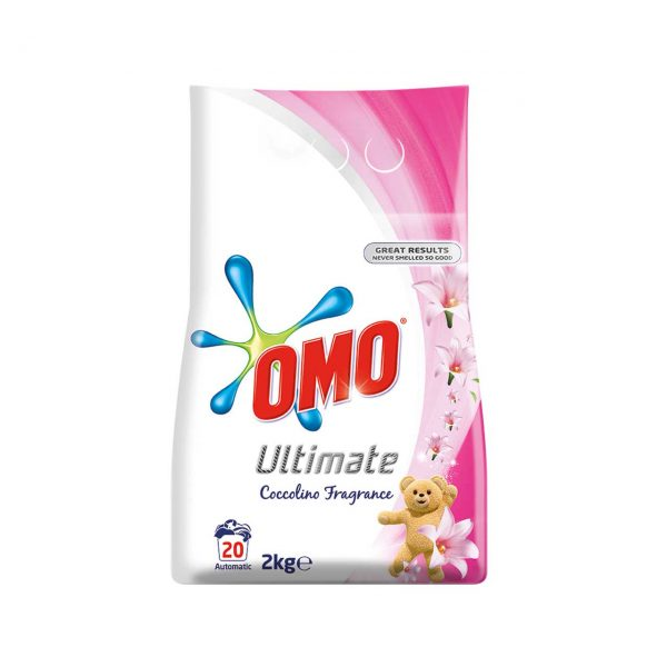 omo ultimate coccolino fragrance detergent rufe automat 2 kg