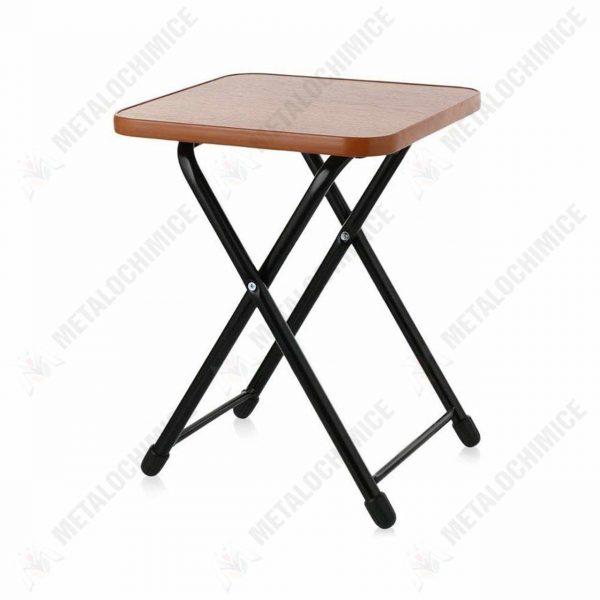scaun pliabil lemn de gradina fara spatar