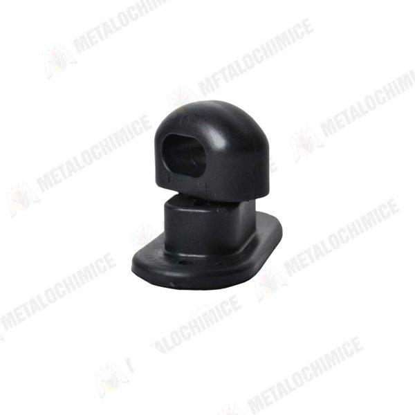 Brida prindere rotativa din plastic 35 mm neagra