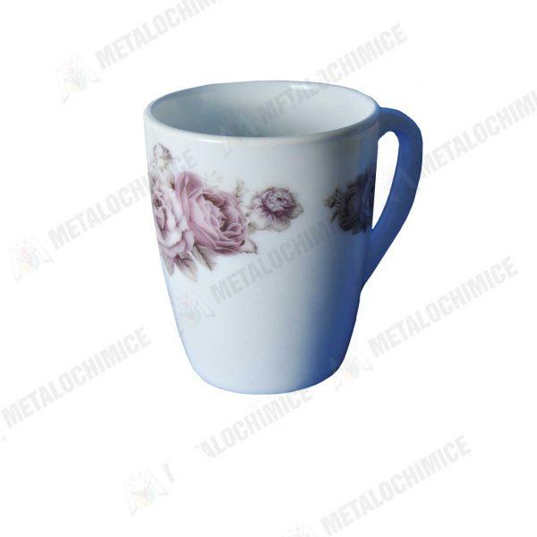 Cani de ceai din opal cu model 300ml Set 6 bucati 3