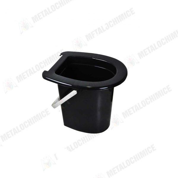 Galeata WC plastic fara capac 16L